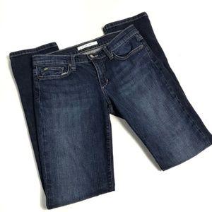 Joe's Jeans Dark Wash Straight Cigarette Jeans